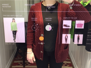 ai smart mirror for fashion retail