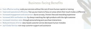 e-commerce chatbot business benefits