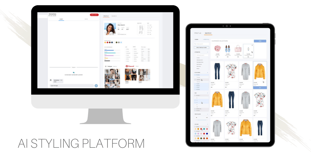 e-commerce chatbot ai styling platform