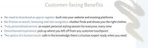 e-commerce chatbot customer benefits