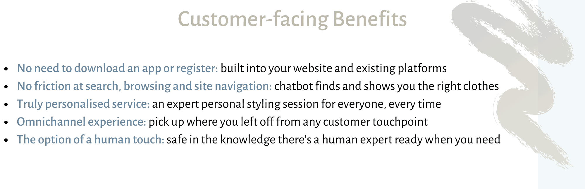e-commerce chatbot customer benefits