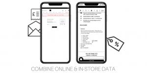combine online instore data