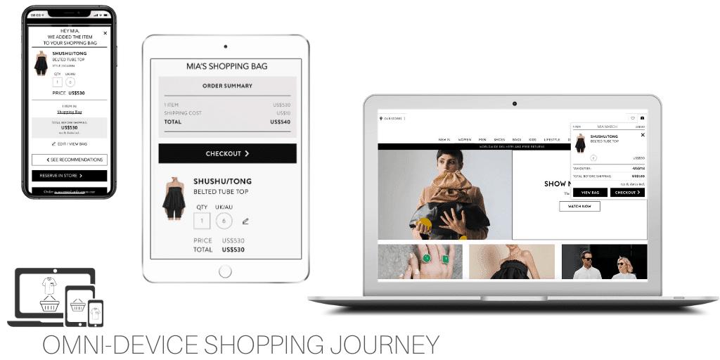 omni device retail