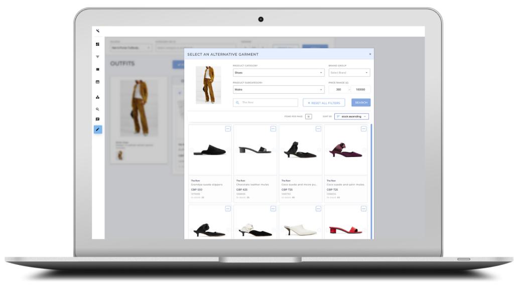 A.I. merchandising platform