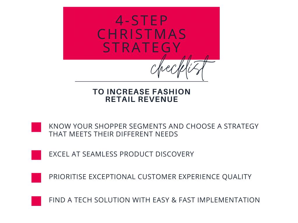 christmas strategy checklist