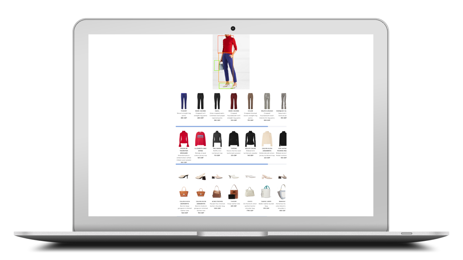 visual search outfit discovery