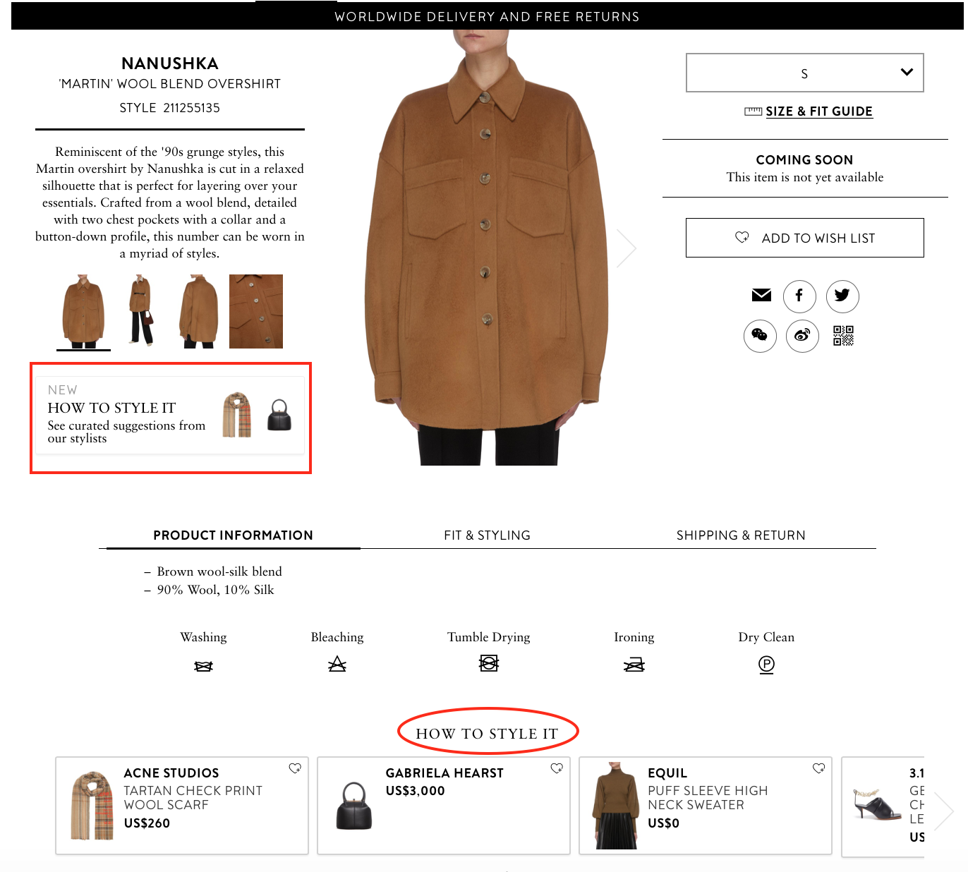 complete the look recommendations lane Crawford
