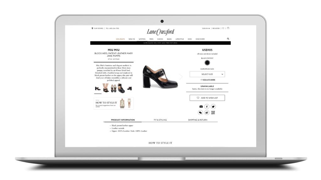 buying and merchandising platform