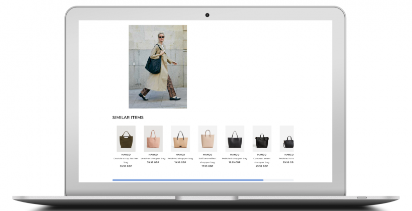 visual search product discovery single